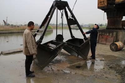 羊尖交管加强码头水环境整治工作