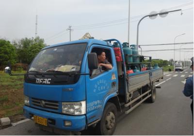 新吴区运政加强日常巡查 重拳整治液化石油气运输