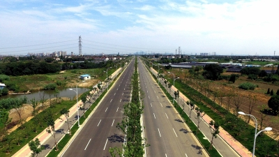 中惠大道西延新建工程建成通车